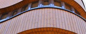 نمای چوبی ترمووود آلوم سازه