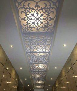 سقف معرق آلوم سازه
