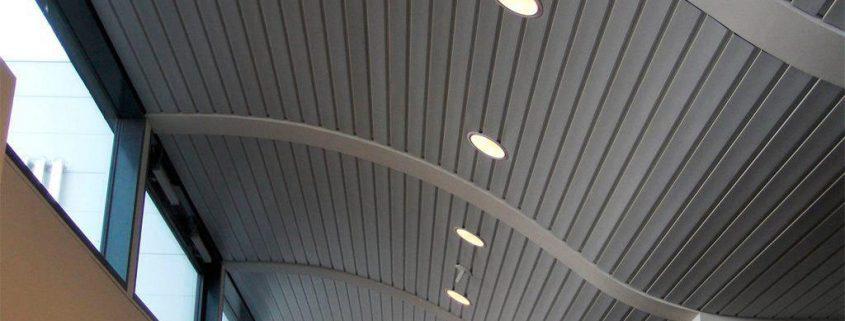 سقف آلومینیومی لوکسالون