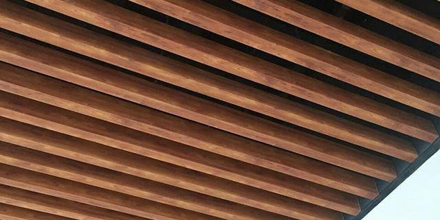 سقف آلومینیومی لوور